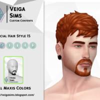 Facial Hair Style 15 By David_mtv