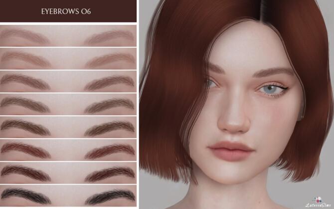 Sims 4 Eyebrows 06 at Lutessa