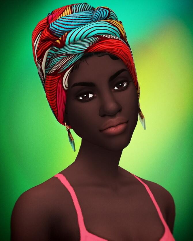 Sims 4 Nia & Niani Headwraps at Saurus Sims