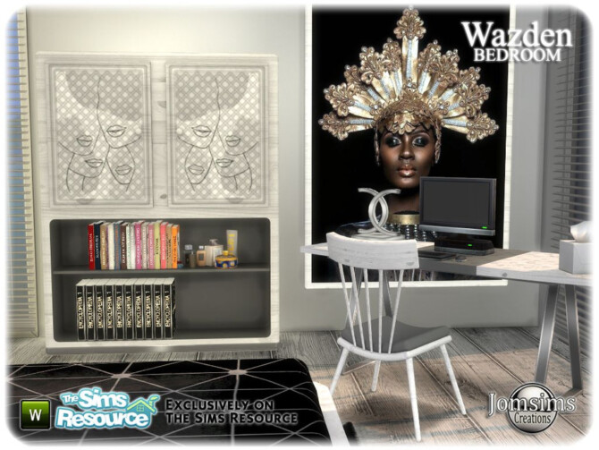 Sims 4 Wazden bedroom by jomsims at TSR