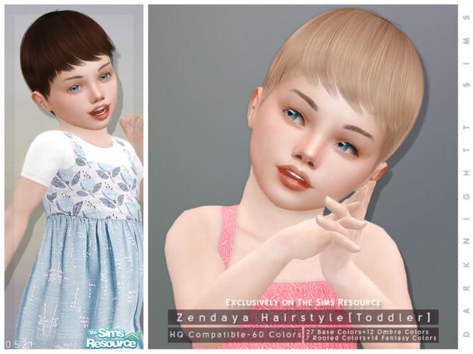 Zendaya Hairstyle Toddler By Darknightt