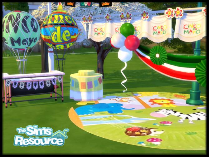 Sims 4 Cinco de Mayo Celebratory set by seimar8 at TSR