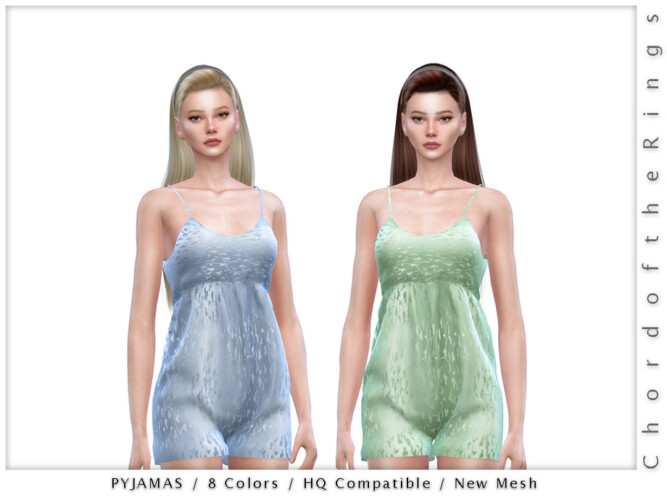 Pyjamas By Chordoftherings
