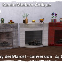 Fireplace Modern Antique By Chalipo