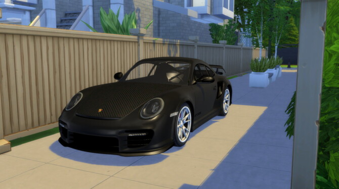 Sims 4 2011 Porsche 911 GT2 RS at Modern Crafter CC
