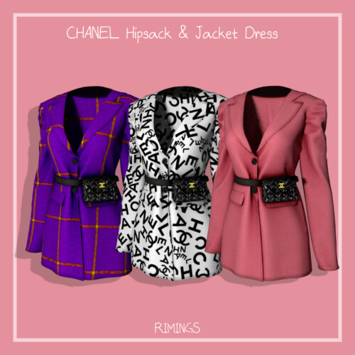 Hipsack & Jacket Dress
