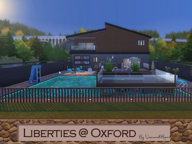 Sims 4 Liberties @ Oxford by SavannahRaine1 at Mod The Sims 4