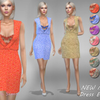 Dress Enna 1 By Jaru Sims