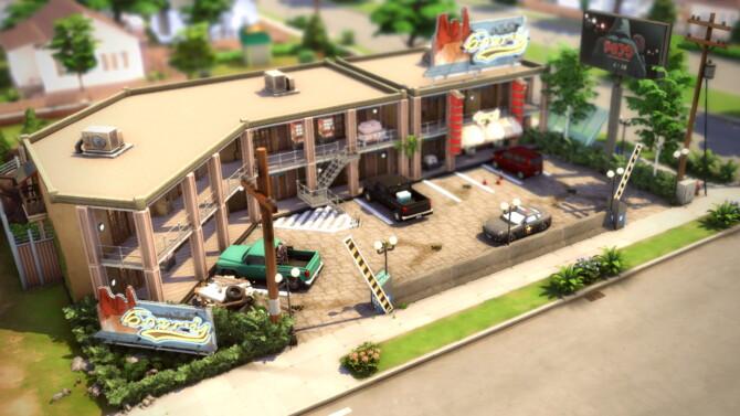 Sketchy Sims Motel 40×30 By Bradybrad7