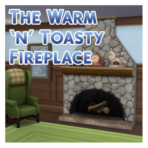 The Warm 'n' Toasty Fireplace By Menaceman44
