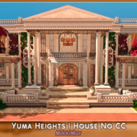 Yuma Heights House In The Ancient Roman Style