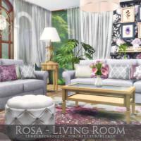Rosa Living Room By Rirann