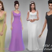 Dress Estefania 1 By Jaru Sims