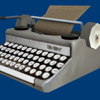Buyable Antique Typewriter Without Case By Xordevoreaux