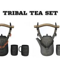 Tribal Tea Set