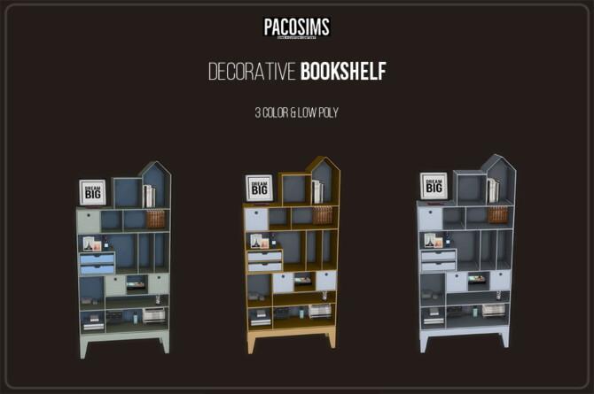 Decorative Bookshelf (p)