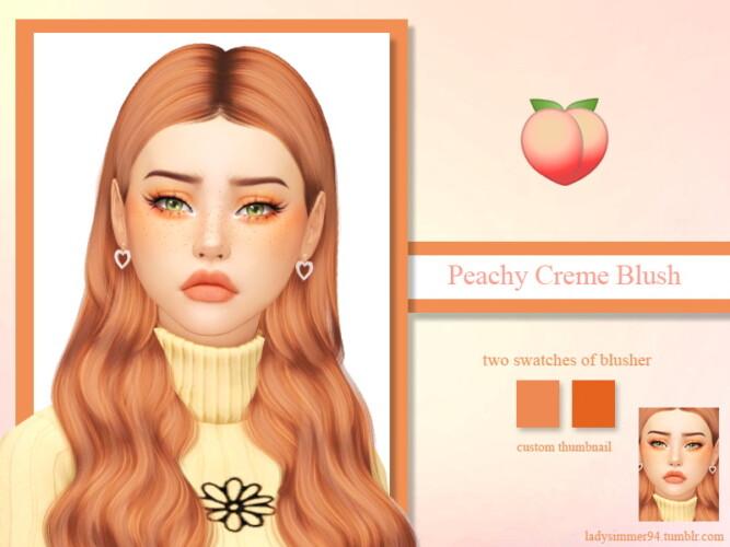 Peachy Creme Blush By Ladysimmer94