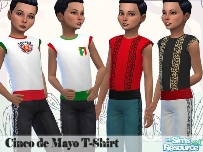 Boys Cinco De Mayo Tucked Tee By Pelineldis