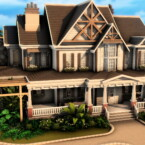 Country Familiar House By Plumbobkingdom