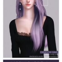 Ivory Gardenia Hairstyle
