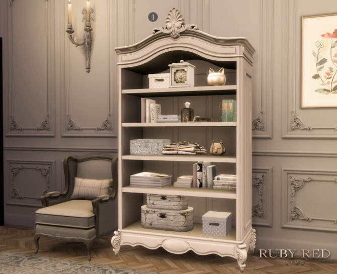 Sims 4 May Traditional Townhouse CC Set at Ruby Red