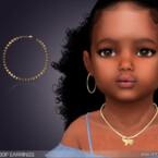 Kenzie Hoop Earrings For Toddlers