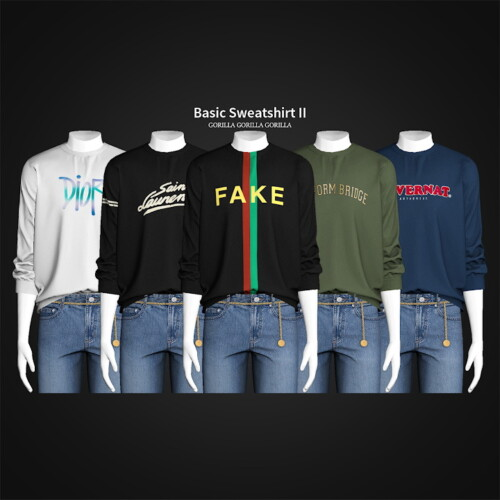 Basic Sweatshirt Ii