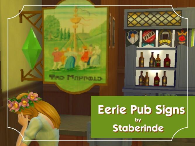 Eerie Pub Signs By Staberinde