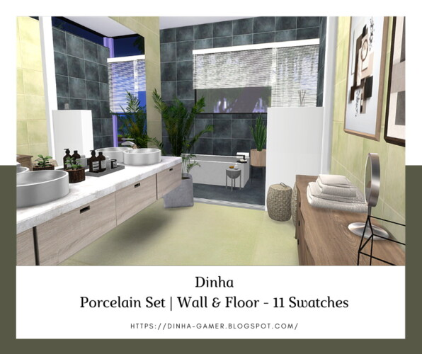 Porcelain Set: Wall & Floor