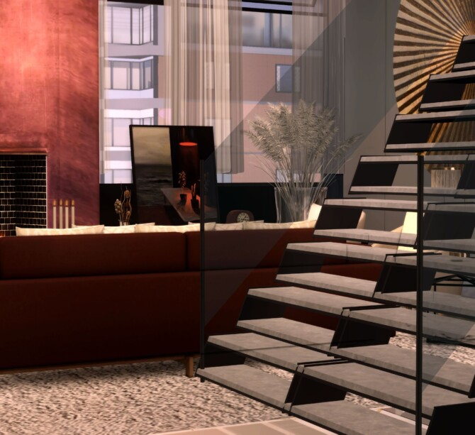 Sims 4 N.Y.C Brooklyn Penthouse at Lily Sims