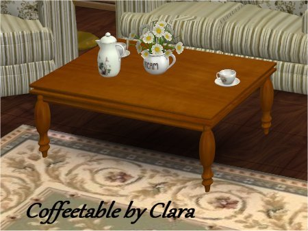 Coffee Table By Clara