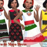 Girls Cinco De Mayo Dress By Pelineldis