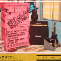 Pretty In Punk Armoire By Simspaces