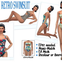 Ep07 Retro Swimsuit