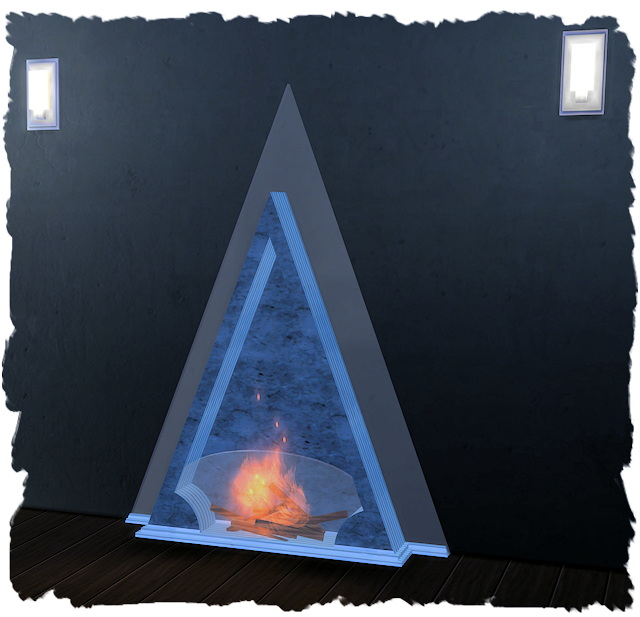 Sims 4 Rouen fireplace by derMarcel conversion by Chalipo at All 4 Sims