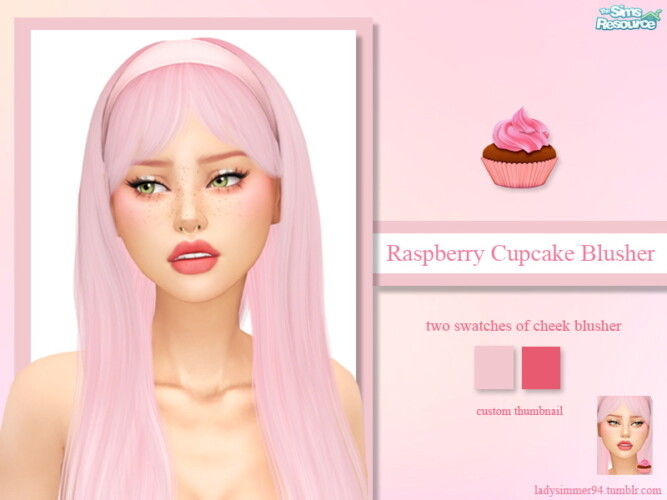 Raspberry Cupcake Blusher By Ladysimmer94