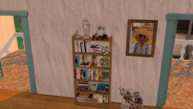 Empty Bookcase By Aliki's Nook