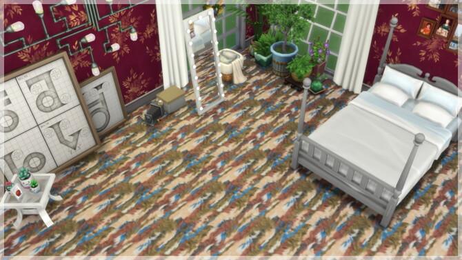 Sims 4 Fluffy Carpets at Annett's Sims 4 Welt