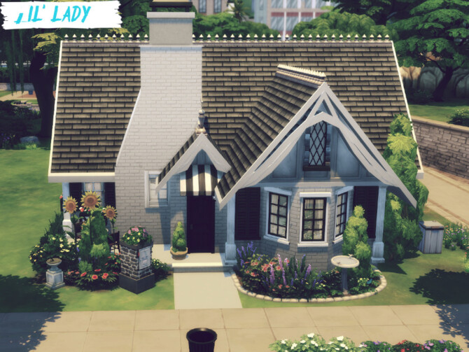 Sims 4 LilLady home by GenkaiHaretsu at TSR