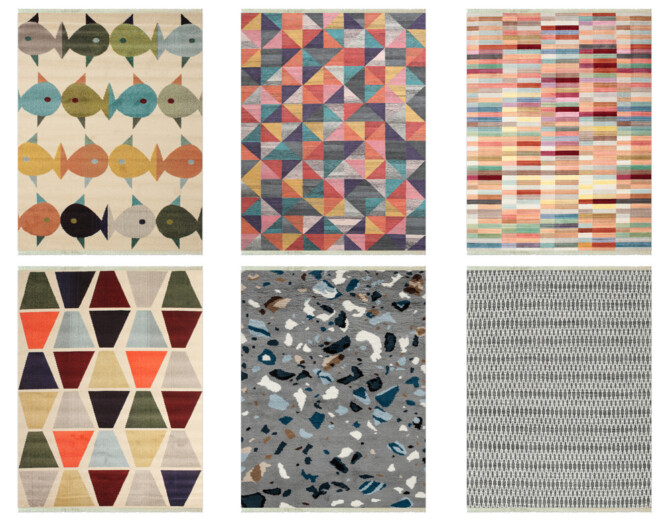 Sims 4 Rugs with fringes at Riekus13