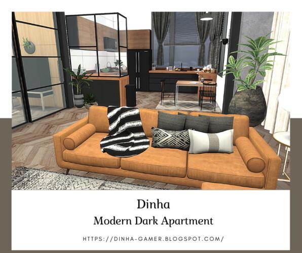 Modern Dark Apartment