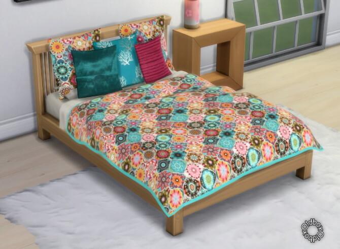 Sims 4 Bedding & Pillows by Oldbox at All 4 Sims
