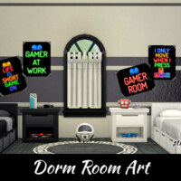 Dorm Room Art