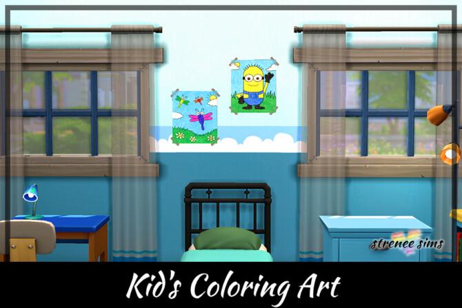 Kid's Coloring Art