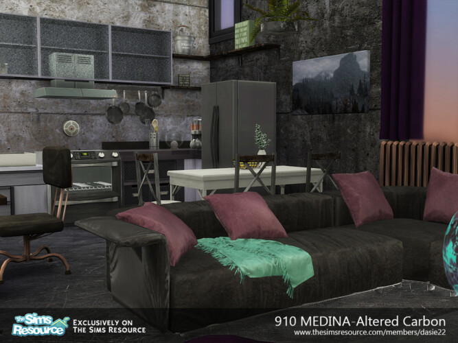 910 Medina Altered Carbon Suite By Dasie2
