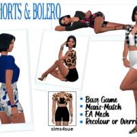Bg Shorts & Bolero