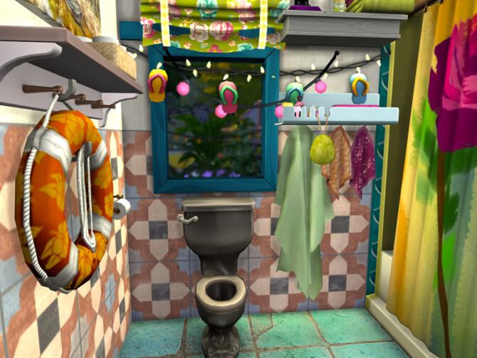 Sims 4 My Little Vardo Tiny Bath by fredbrenny at TSR
