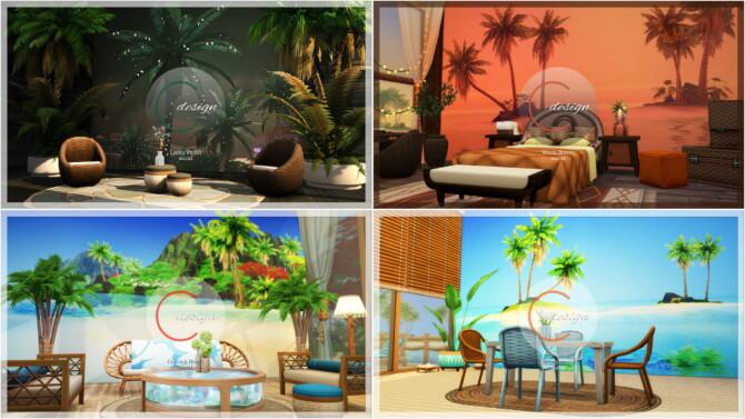 Sims 4 Murals Mega Pack at Cross Design