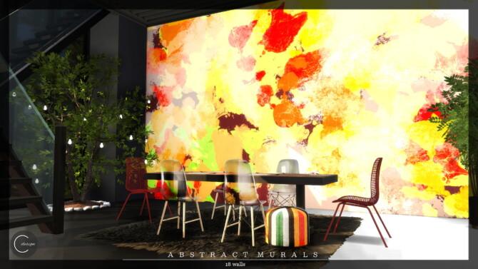 Abstract Murals