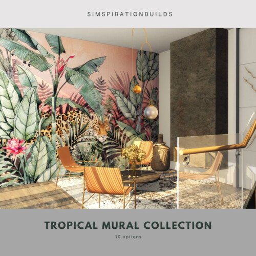 Little Tropical Mural Collection